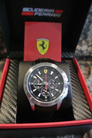 Ferrari Scuderia Chronograph Black 0830039 Herren Uhr Express Bild
