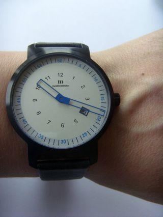 Danish Design Uhr Watch 3314416 Schwarz Blau Dänisches Design Iq14q1008 Bild