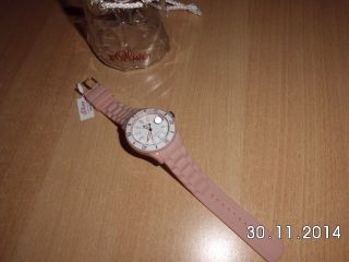 S.  Oliver Uhr Armbanduhr Quartz Silikon Uvp:49,  95€ Weihnachten Bild