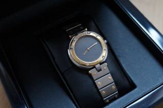 Cartier Santos Vendome Damenuhr Stahl/gold Mit Diamanten Bild