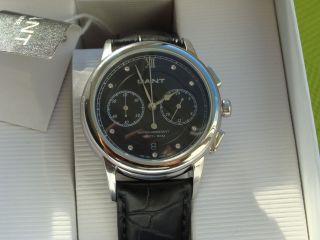 Gant W7022 Chronograph Mit Swarovski Kristallen Damenuhr Bild
