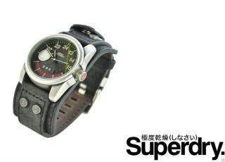 Superdry Rpm Watch Analog Quarz Luxus Uhr & Ovp Bild