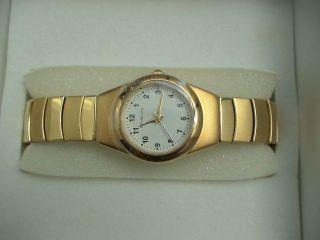 Fabiani Damenuhr Damen Armbanduhr Mit Flexarmband Nicht Benutzt Bild