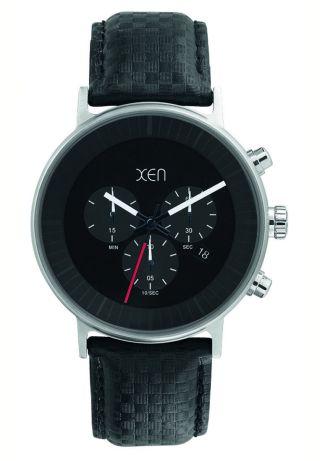 Xen Herren Chronograph Schwarz Xq0204 Bild