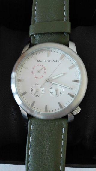 Marc O ' Polo Herren Leder Armbanduhr - Bild