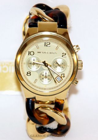 Michael Kors Mk4222 Uhr Damenuhr Armbanduhr Edelstahl Gold Analog Quarz Bild