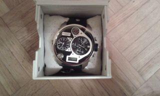 Diesel Armbanduhr Für Herren Dz 7125 - Neuwertig (neues Gehäuse) Bild
