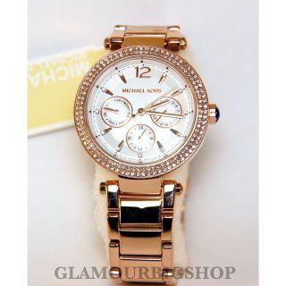 Michael Kors Mk5781 Uhr Damenuhr Armbanduhr Edelstahl Rose Gold Analog Bild