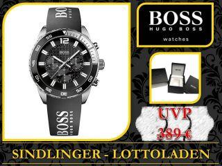 Hugo Boss Hb1512868 Herren Chronograph Silikon Uhr Damen Luxusuhr Bild