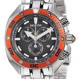 Sector Ocean Master R3273670425 & Ovp Chronograph Diver Taucheruhr Herrenuhr Bild