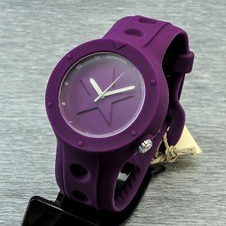 Damenuhr Herrenuhr Quarz Converse Rookie Vr001 - 505 Quarzuhr Uhr Lila Bild