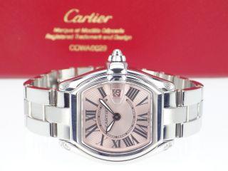 Cartier Roadster Ladies W62017v3 Mit Box Und Papieren Bild
