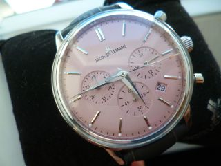 Jacques Lemans Classic N - 209f Armbanduhr Damen,  Herren Mit Etui Bild