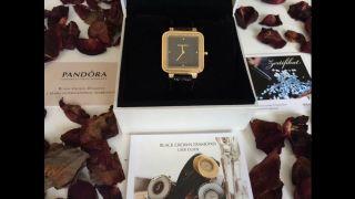 Pandora Grand C Damen Armbanduhr Mit 103 Diamanten,  0,  51 Karat,  Gold Neu&ovp Bild