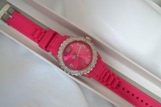 Damenuhr Firetti Pink Mit Silikonarmband Uvp 24,  99€ - - Unbenutzt Bild