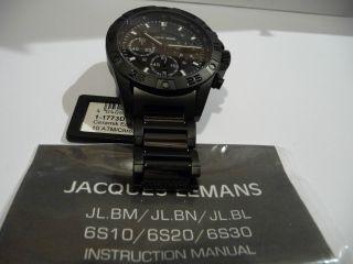 Jacques Lemans Sport Liverpool Chronograph 1 - 1773d Neu&ungetragen Bild