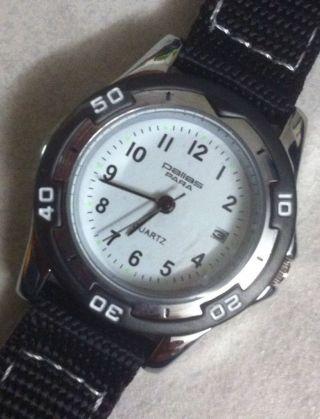 Kinder Sport Armbanduhr Pallas Quartz Klettarmband 10bar Mineralglas Bild