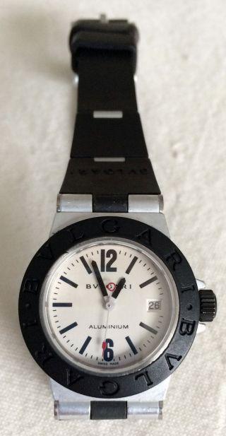 Bulgari Damen Uhr Al 29 Ta Diagona Aluminium Bild