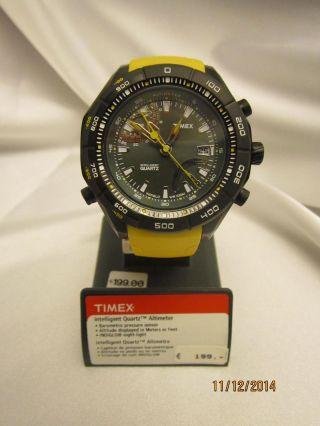 Timex Expedition Herren - Armbanduhr Xl E - Altimeter Analog Kautschuk T 2n730 Su Bild