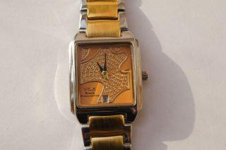 Luv & Kush Damenuhr Silver - Gold - Bicolor 18 Karat Vergoldet Bild