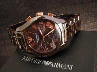 Emporio Armani Chronograph Ceramica Ar1447 Keramik Bild