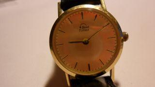 Best Times 14 Kt.  585 Gelbgold Damenuhr Massiv Bild