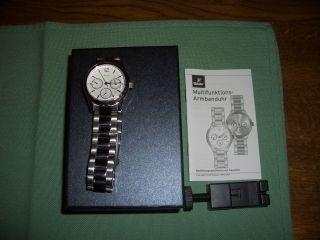 Tcm Tchibo Multifunktions Armbanduhr Für Damen Und Herren Bild