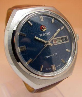 Rado Companion Glasboden Mechanische Uhr Datum & Tag Lumi Zeiger Bild