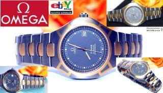 Exclusive Omega Seamaster Automatik Titan Herrenuhr Alle Unterlagen Zertifikat Bild