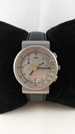 Braun Armbanduhr - Quarz - Selten - Sammler Bild