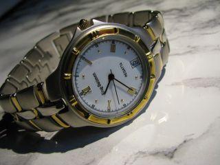 Krug Baümen Regatta Armbanduhr Mit Quarzwerk Und Datumsanzeige Neuwertig Bild