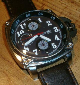 Moderne Herren Damen Uhr Von Animoo Datum Anzeige Bild