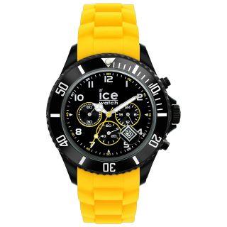 Ice Watch Ice - Chrono Armbanduhr Big Unisex Schwarz / Gelb Bild