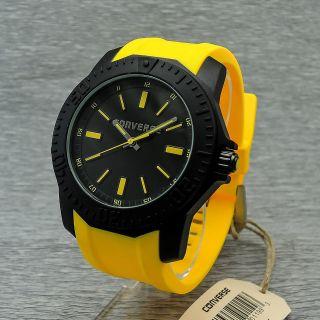 Damenuhr Herrenuhr Converse Vr016 - 609 Quarzuhr Uhr Schwarz Gelb Bild