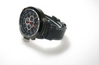 Tw Steel Uhr Herren Schwarz Twce1034 Edelstahl Weinachten Lederband Schwarz Bild