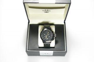 Tw Steel Uhr Herren Schwarz Tw - 900 Edelstahl Schwarzes Zifferblatt Bild