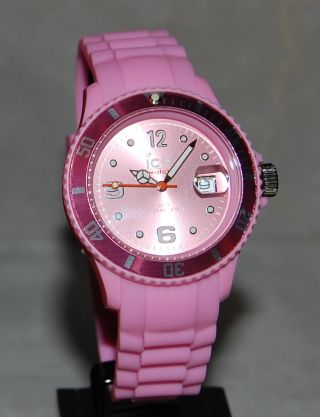 Ice Watch,  Sili Pink Unisex,  Si.  Pk.  U.  S.  09 Bild