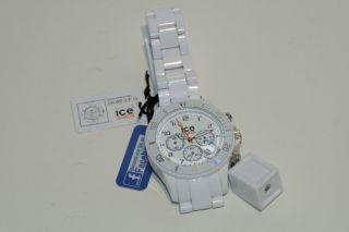 Ice - Watch Armbanduhr Ice - Chrono Unisex Weiss Ch.  We.  U.  P.  10 Bild