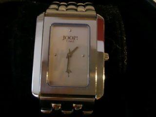 Joop Time By Junghans Damenuhr Mit Echtheitszertifikat,  Rechn. ,  Ersatzarmband Bild