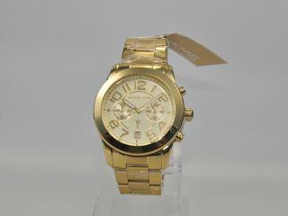 Michael Kors Mk5726 Damenuhr Armbanduhr Chronograph Edelstahl Bild