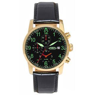 Astroavia,  Alarm Chronograph,  Wecker,  2 Zeiten,  Flieger Uhr,  Ym62,  K7l,  K9l Bild