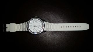 Tom Watch Armbanduhr White Bild