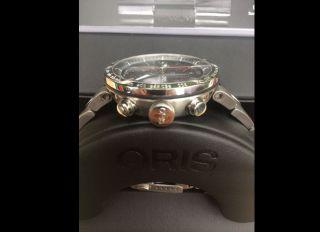 Oris Tt1 Chronograph Und Ungetragen Mit 1.  150€ Bild