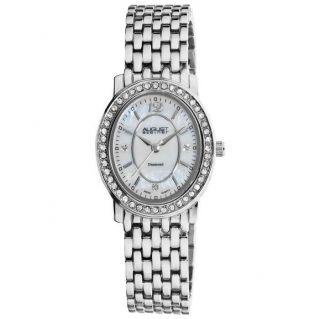 August Steiner As8043ss Blendend Diamant Oval Armband Frauen Uhr Bild