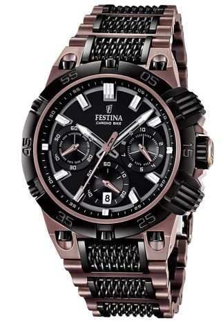 Festina Chrono - Bike 2014 Burnt Copper Le Uhr F16776/1 Bild