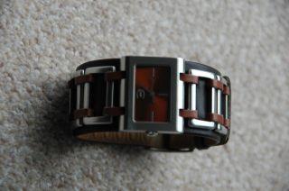 Just Cavalli Armbanduhr Braun Breites Band Bild