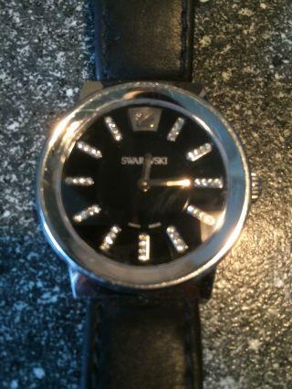 Swarovski Piazza Black 1000665 Wunderschöne Uhr Neupreis 440€ Bild
