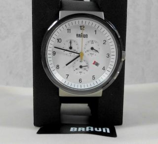Braun Armbanduhr/chronograph Bn 0035 G,  Ovp Bild