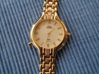 Timex Indiglo Cr 1025 Cell Quartz Uhr Mit Beleuchtung Damenuhr - Selten Bild