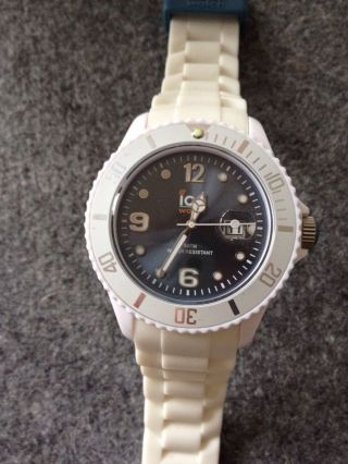 Ice Watch - Ice White Jeans Unisex - Unisex 10 Atm - Wie Bild
